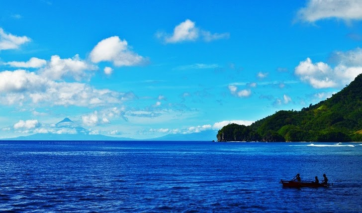 View from Guijalo Port, Caramoan, Cam Sur