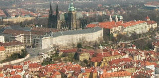 Prague Castle viewed from the Old Town