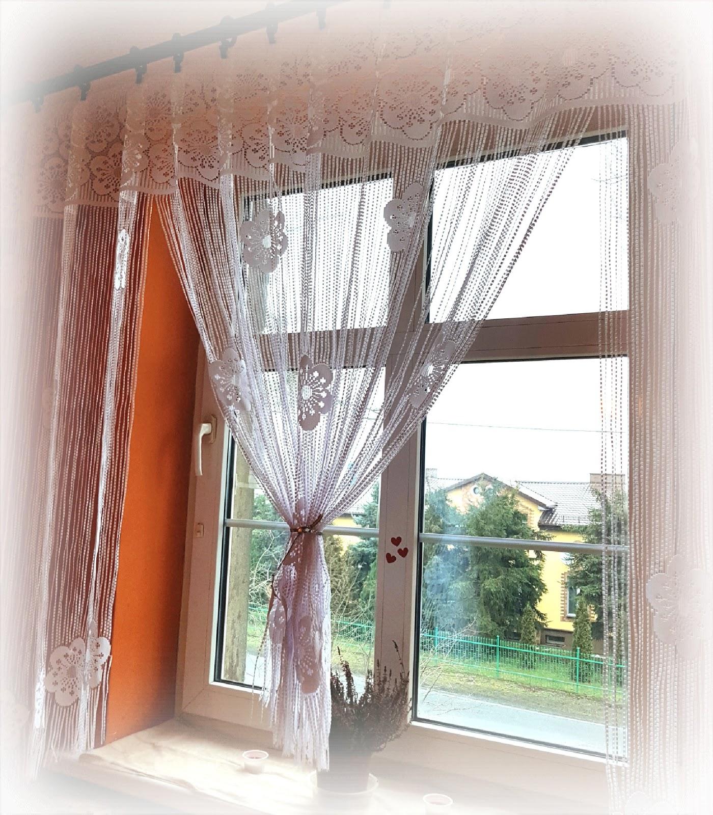 Piękne Okna Z Firanami łukowymi Makaroniki Polontex