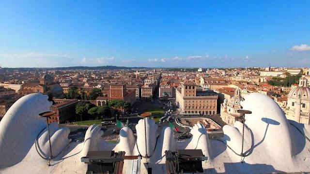 Informações sobre o Monumento a Vítor Emanuel II em Roma