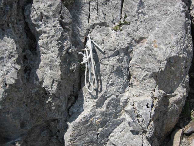 Rutas Montaña Asturias: Cordino en el Portillín Oriental