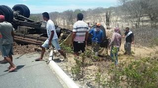 Dois acidentes foram registrados neste sábado entre São Vicente do Seridó e Soledade