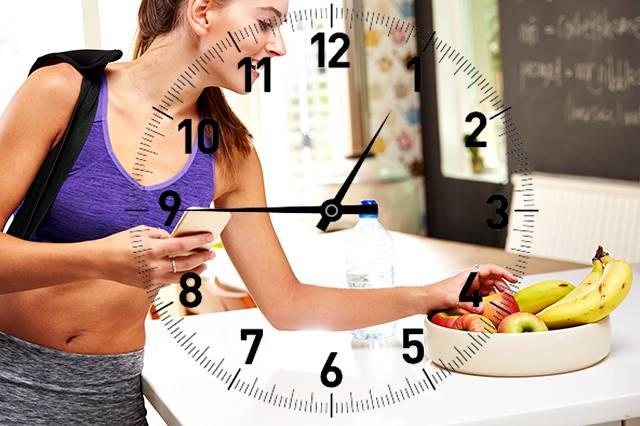 Cuántas horas o minutos esperar para poder comer luego de terminar una sesión de entrenamiento