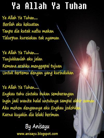 Puisi Cinta Allah Celoteh Bijak
