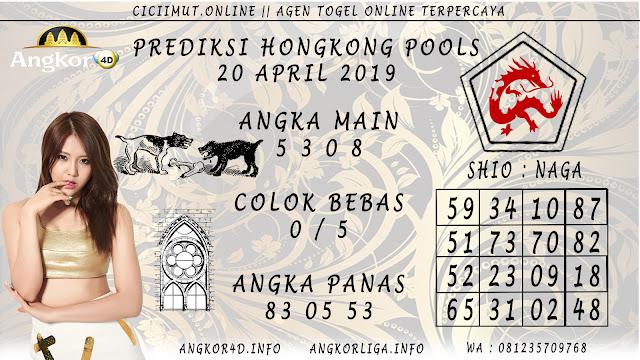 Prediksi Angka Jitu HONGKONG POOLS 20 APRIL 2019