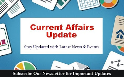 CURRENT AFFAIRS UPDATES: 30TH AUGUST