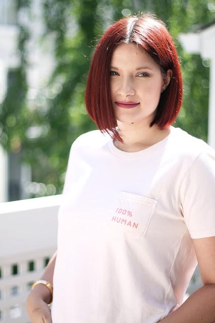 Everlane, 100% human collection, red hair, san francisco, fashion blogger, womenswear