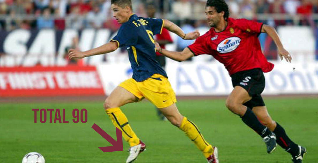 new arrival c3a1b d9b61 Adizero, Predator, Total 90 - Here Is Fernando Torres  Full Boot History
