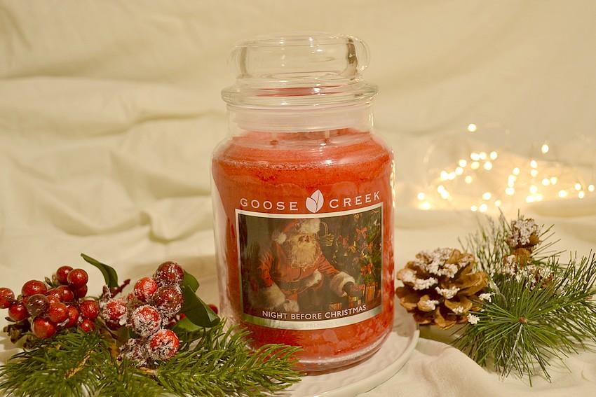 świąteczna świeca gąska