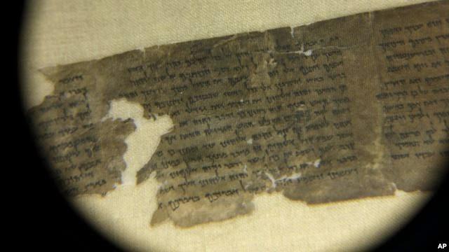 Descubriendo la historia de los manuscritos del Mar Muerto