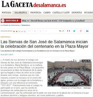 http://www.lagacetadesalamanca.es/salamanca/2017/01/26/siervas-san-jose-salamanca-inician-celebracion-centenario-plaza-mayor/195437.html