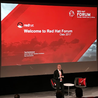 red hat forum norway 2017