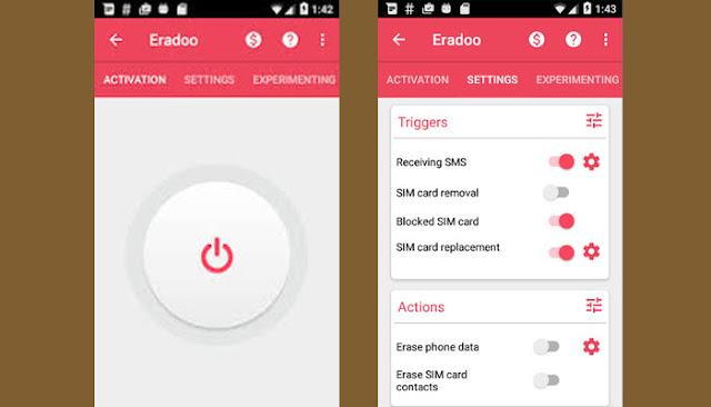 اكتشف أفضل تطبيق سيقوم بحذف كل البيانات المتواجدة على هاتفك في حالة تم سرقته وبطريقة مميزة !