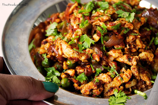 how to make Masala Egg Bhurji / Spicy Scrambled Eggs recipe and preparation