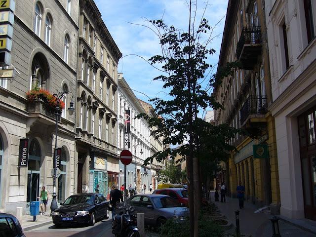 Região de Erzsébetváros, Budapeste