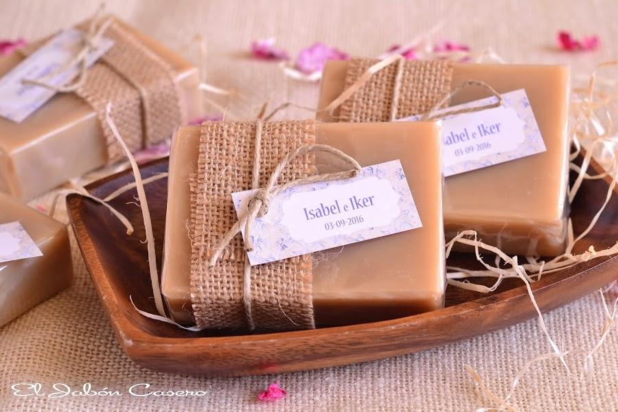 Detalles de boda para hombres jabones naturales