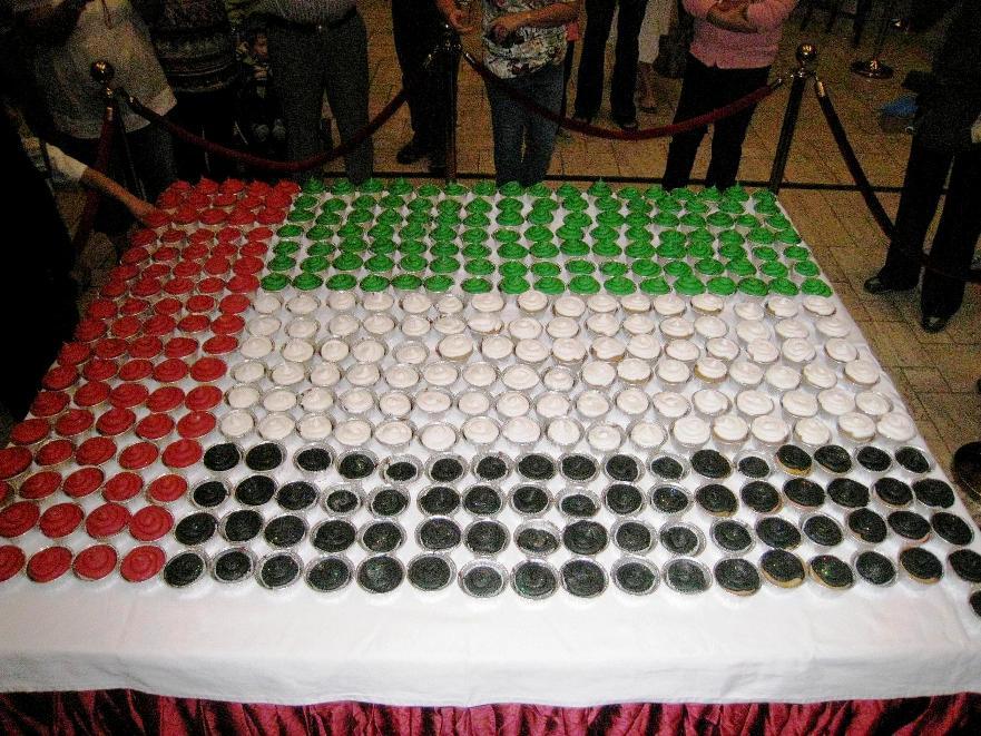 Uae Flag Cake Design : Graafix!: Wallpapers Flag of Dubai UAE Emirate
