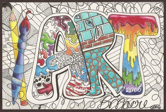 Mrs Macre S Art Class Doodles Can Be Fun