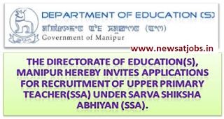 manipur+education+dept+recruitment+2016