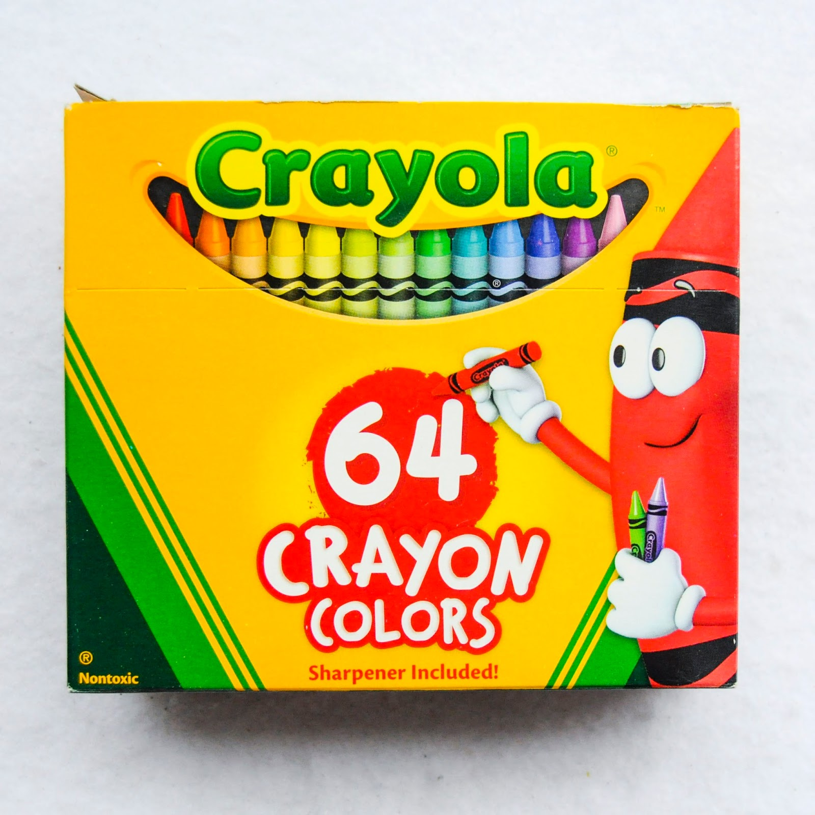 64 Count Crayola Crayons What S Inside The Box
