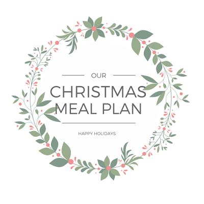Christmas meal plan