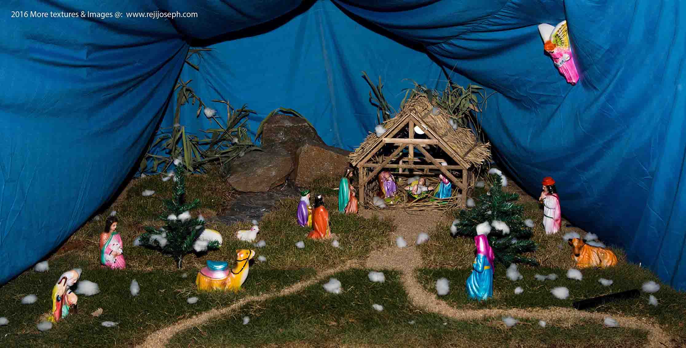 Christmas crib Pulkoodu little flower church elamkulam 00009