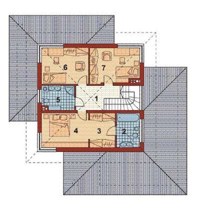 Plano De Casa De 202 M2 Planos De Casas Gratis Y