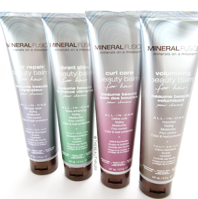 mineral fusion beauty balm - the beauty puff