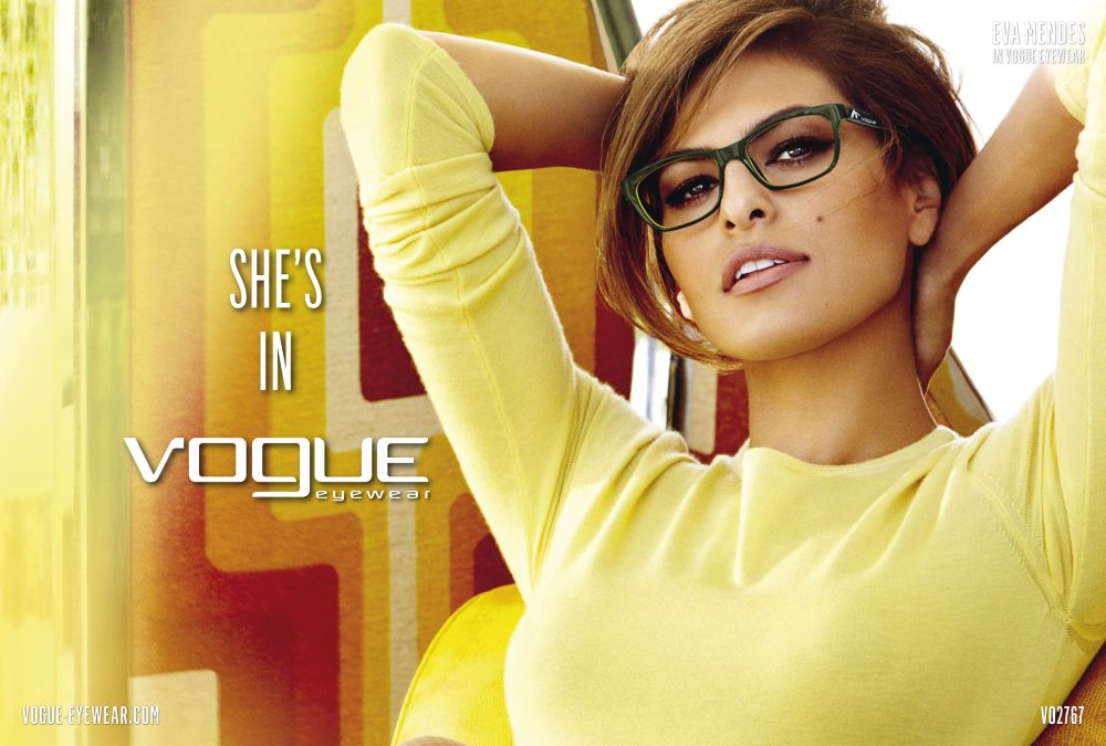 Óculos Vogue- Nova coleção de óculos de grau da grife!   Moda da Vez c42b293ce8