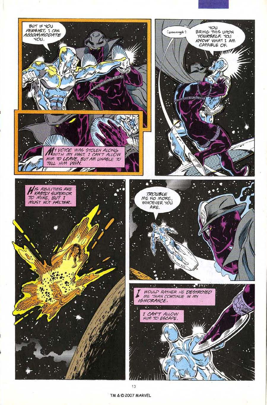 Read online Silver Surfer (1987) comic -  Issue #60 - 15