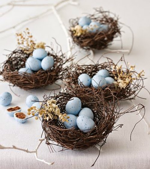 Easter Decorating with Natural Elements