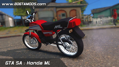 GTA SA - Honda ML 2