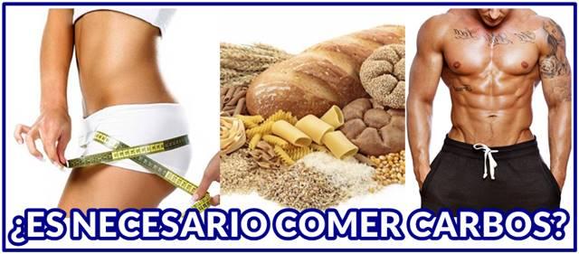 ¿Es necesario comer carbohidratos después de hacer ejercicio?