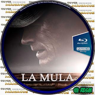 GALLETA BLU-RAY LA MULA - THE MULE - 2018 [COVER DVD]