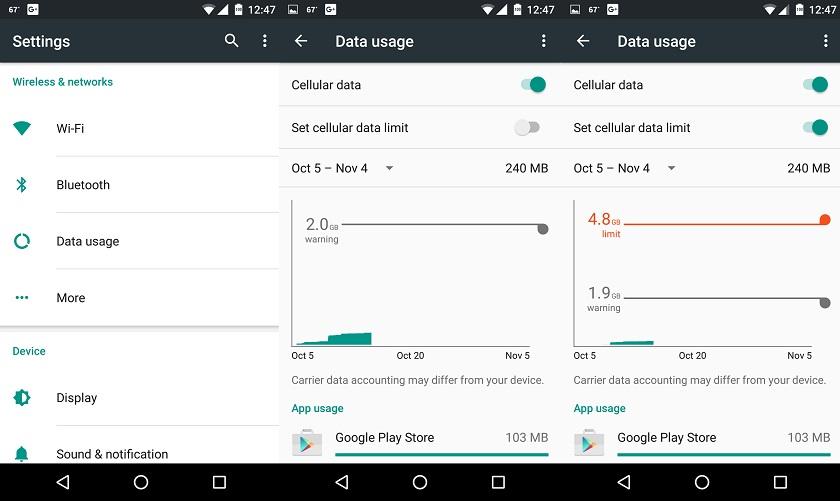 Cara Mebatasi Penggunaan Quota Data Internet Pada Android Smarthphone