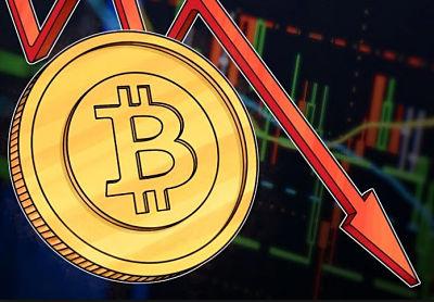 El Bitcoin se desploma a menos US$ 10,000 dólares