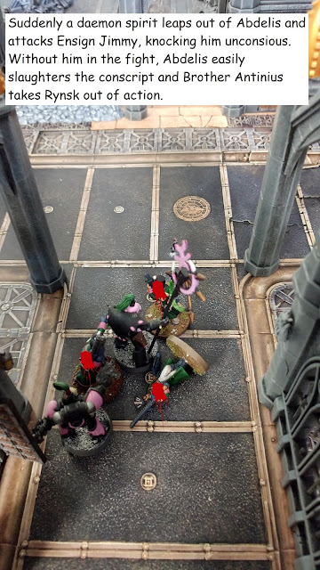 Warhammer 40k Kill Team Astra Militarum Heretic Astartes battle report