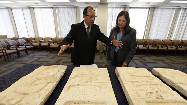 FBI returns Mayan artefacts to Guatemala