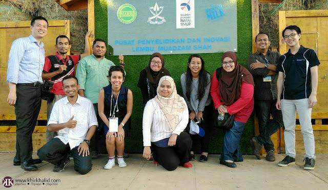 Pusat Penyelidikan dan Inovasi Lembu Muadzam Shah, MSCRIC, Media, Bernama, Metro, Perspective Strategies,