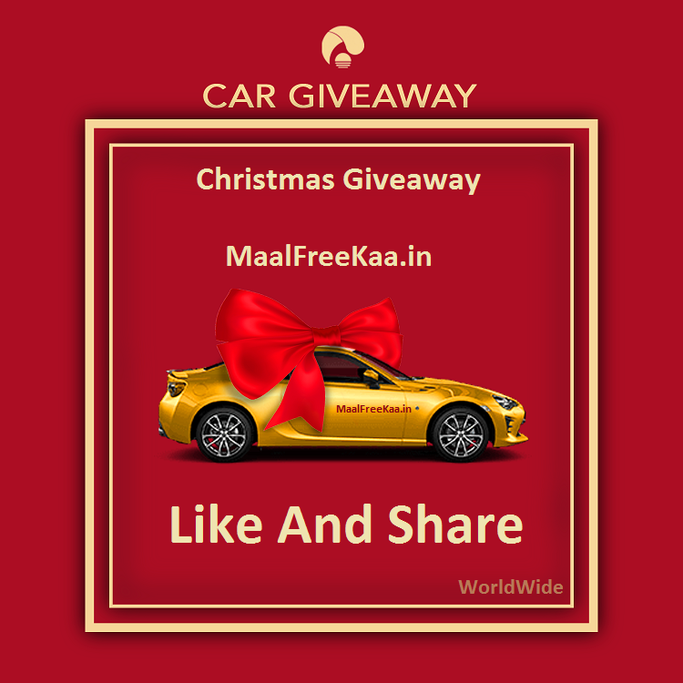 Get Free Car For This Christmas And More Prizes