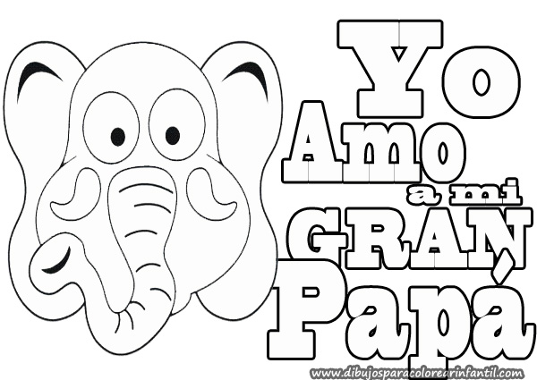 Te amo papa coloring page sketch coloring page for Te amo coloring pages