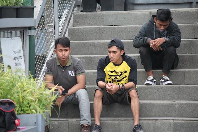 Jadi Baru Kebumen 2018 Tour To Bandung, Best Momen- foto di teras cihampelas bandung 5