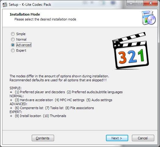 K-Lite Codec Pack 14.8.5