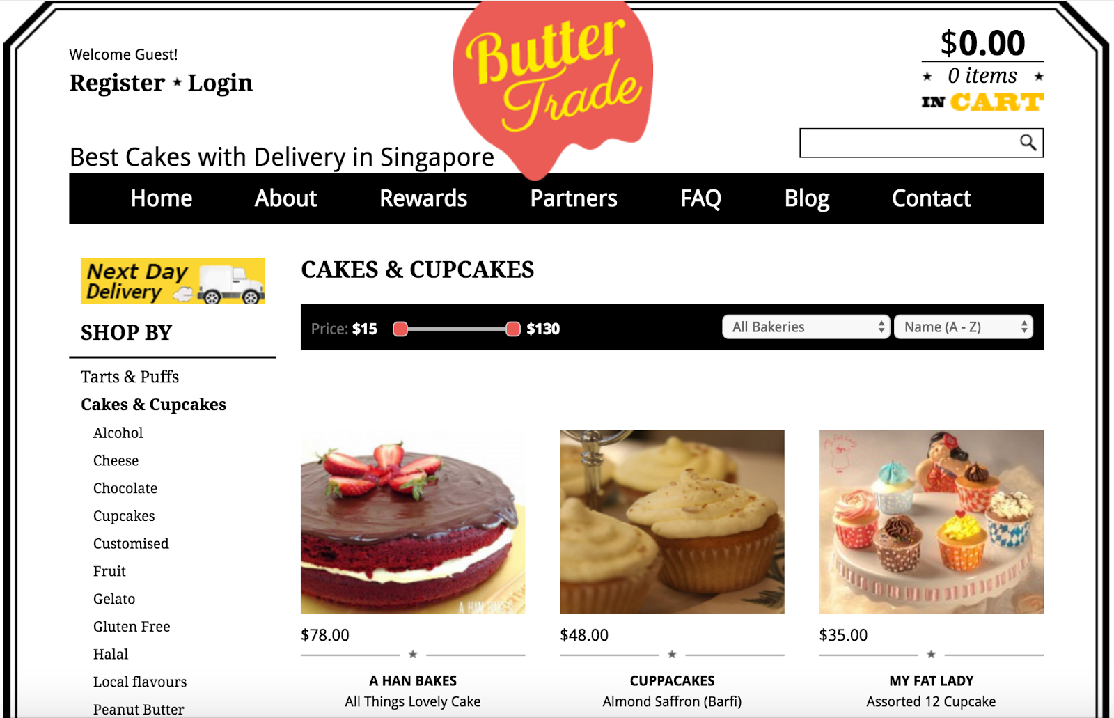 Buttertrade Cakes With Delivery In Singapore Jacqsowhat Food