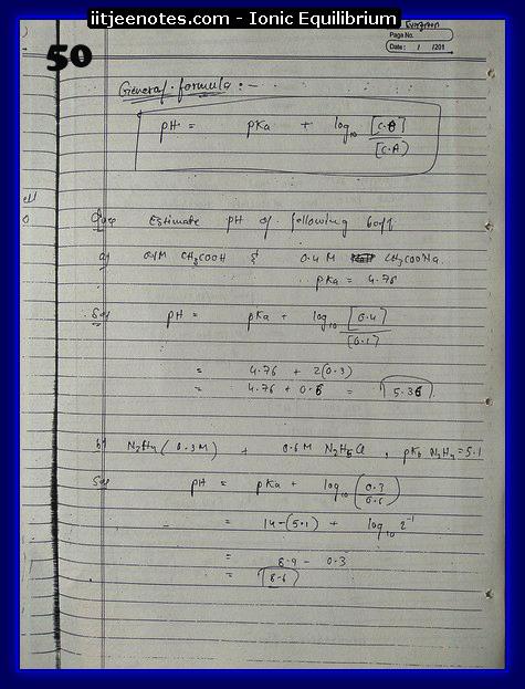 ionic equilibrium chemistry2