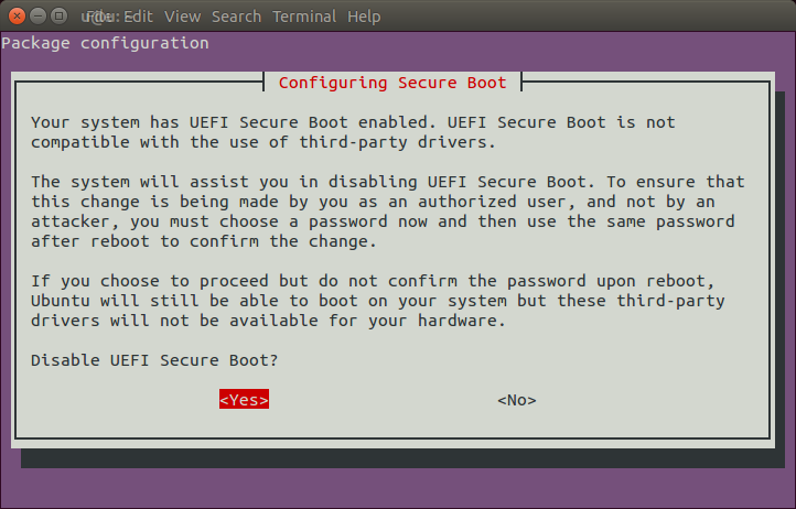 $4 blog: Disable Secure Boot in shim-signed