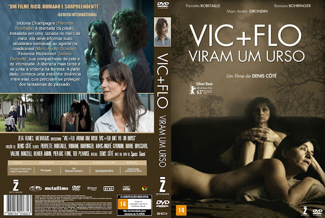 Capa DVD Vic+Flo Viram Um Urso