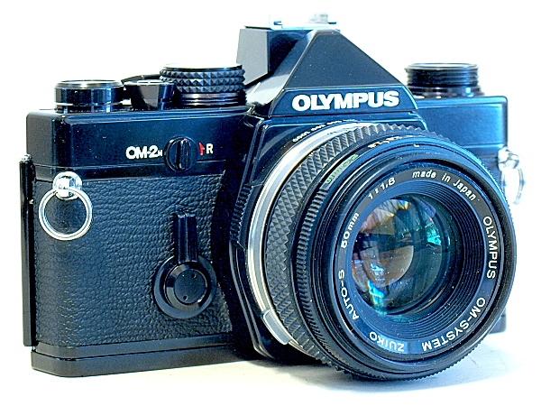 Olympus OM-2n 35mm MF SLR Film Camera