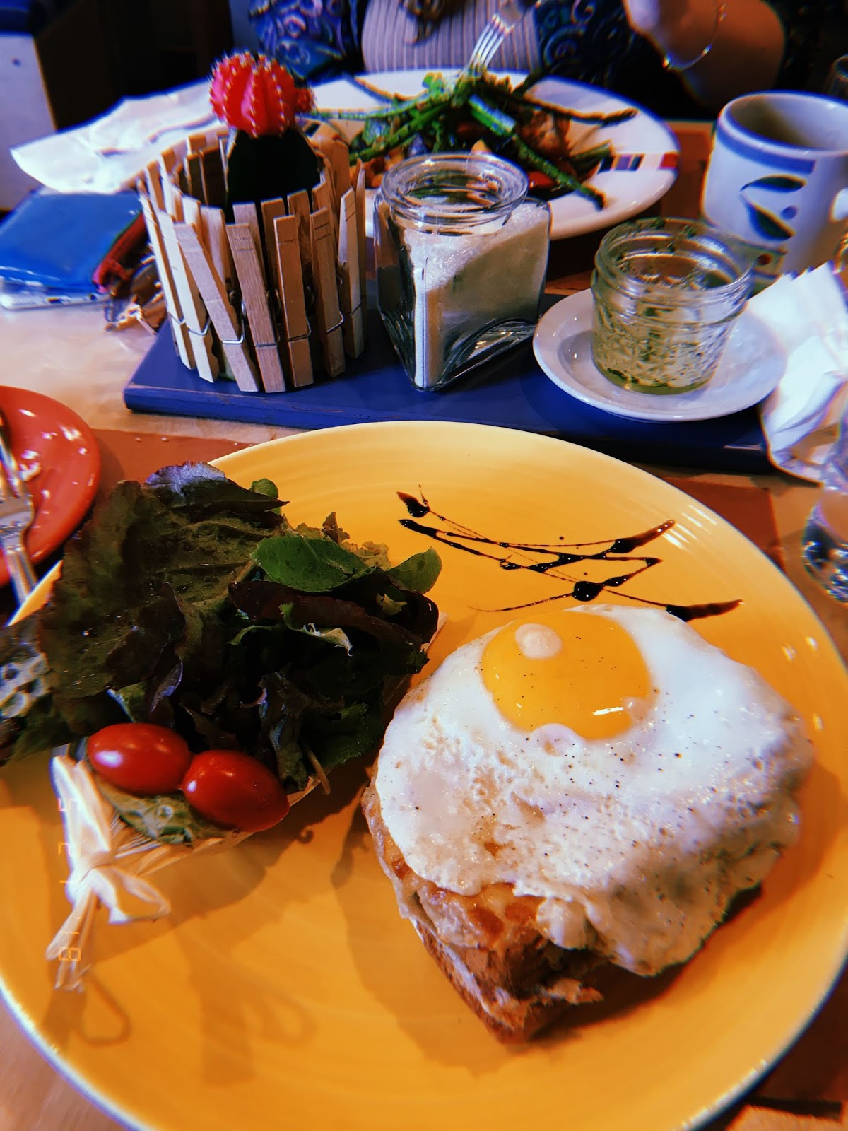 croque madame, bleu galley, puerto nuevo, french