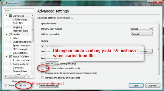 Cara Mengatur Multiple Screen pada VLC Media Player ~ Walidin